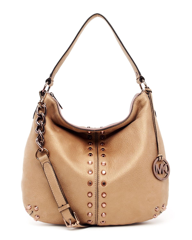 268ce1abeaa6 Lyst - MICHAEL Michael Kors Uptown Astor Large Shoulder Bag in Natural