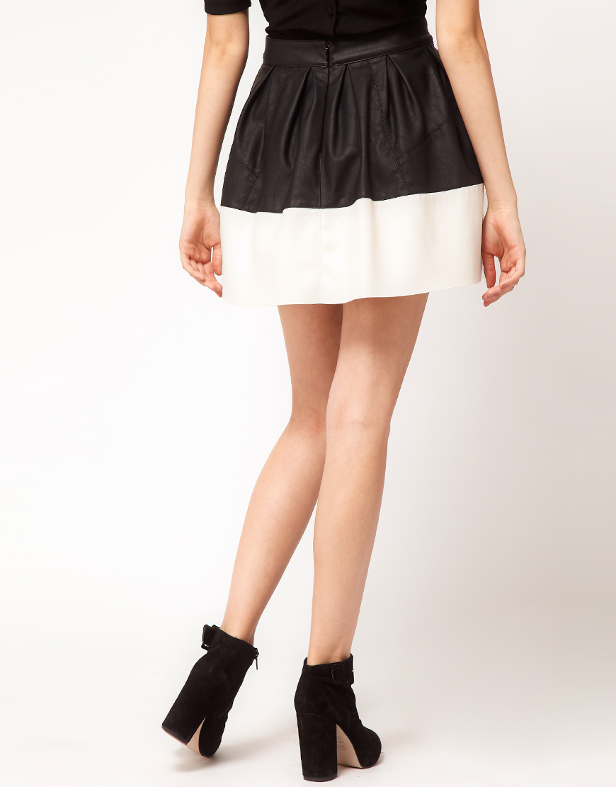 7a842f2eaf5be1 15 Ideas and Combination Of Skater Skirt Outfits