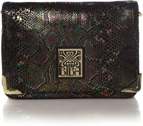 Biba Gretal Leather Shoulder Bag 26