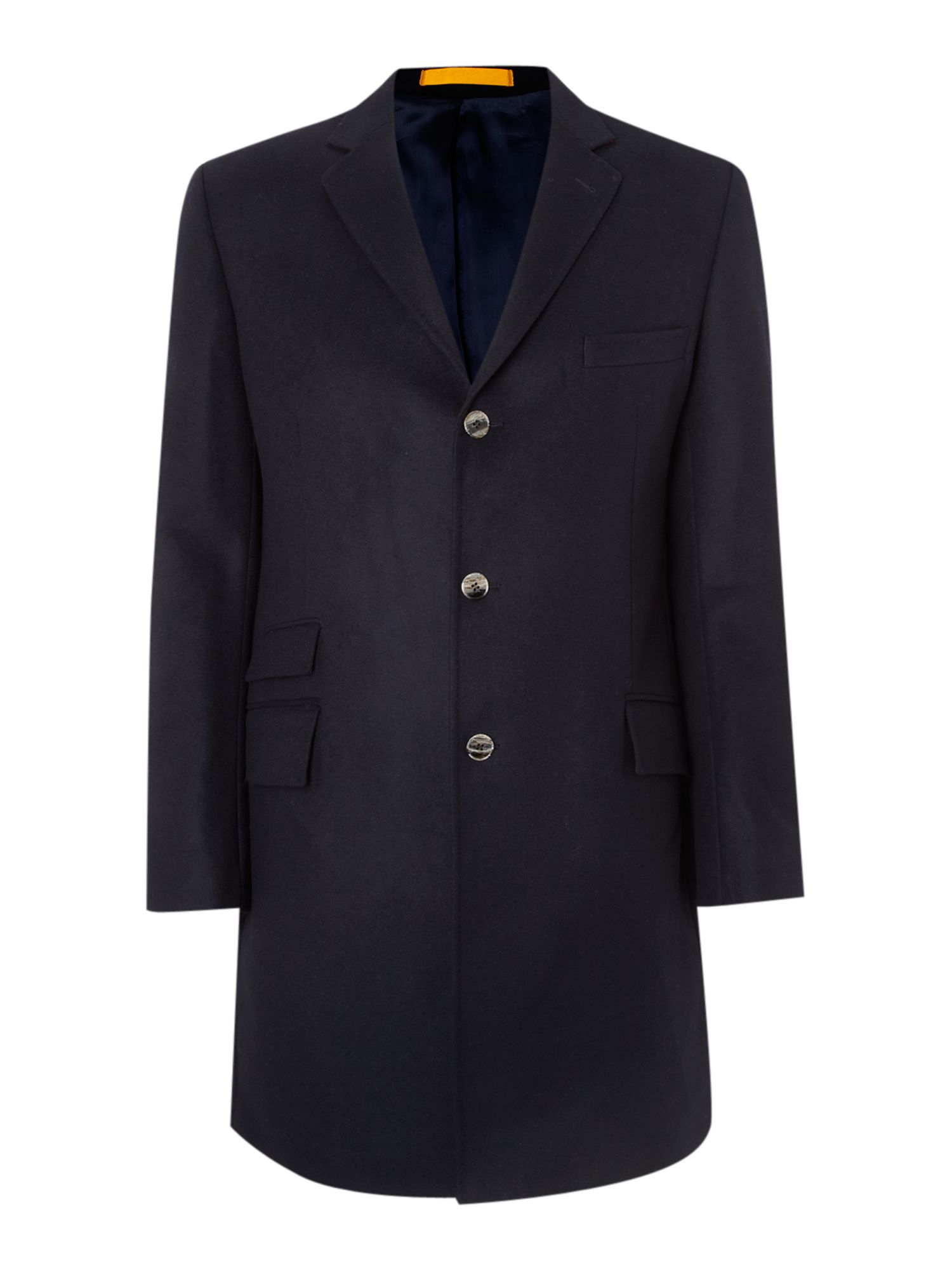 Duchamp Moscow Cashmere Overcoat in Blue for Men navy Lyst