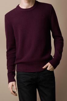 Burberry Brit Cashmere Crew Neck Sweater - Lyst