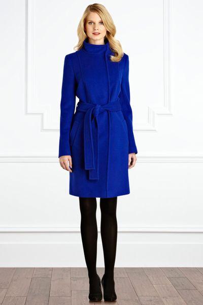Coast Alissa Coat in Blue