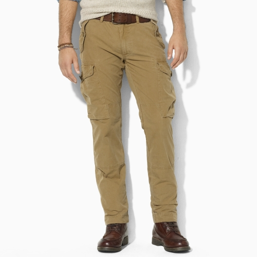 From casual drawstring pants to dressier chinos, Polo Ralph Lauren's pants come in an array of colors, sizes and prices that will fit your style and your budget. Wear a pair of Polo chino pants with a Polo Ralph Lauren shirt and add a Polo belt to finish the look.