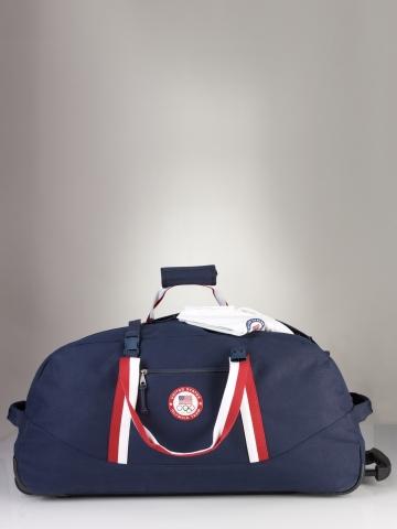 529a0ae701 Lyst - Polo Ralph Lauren Team Usa Rolling Duffle in Blue