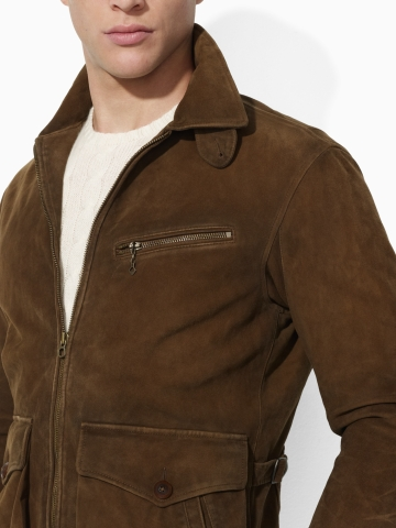 04be008a19367 Lyst - Polo Ralph Lauren Sanford Newsboy Jacket in Brown for Men