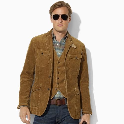 Polo ralph lauren Corduroy Sport Coat in Brown for Men | Lyst