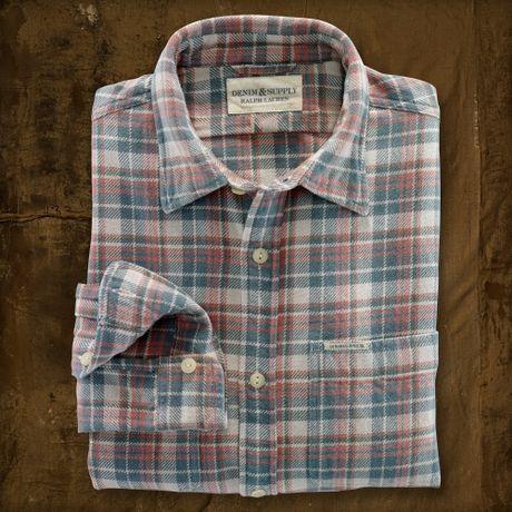 Ralph Lauren Jack Pattern Ward Shirt in Gray for Men (jack)