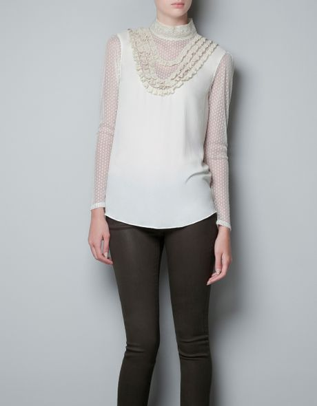 Zara Lace Blouse 66