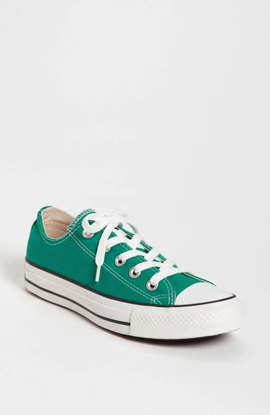 Converse Chuck Taylor Low Sneaker in Green (parasailing) - Lyst