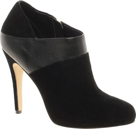 dune adonis shoe boot in black lyst