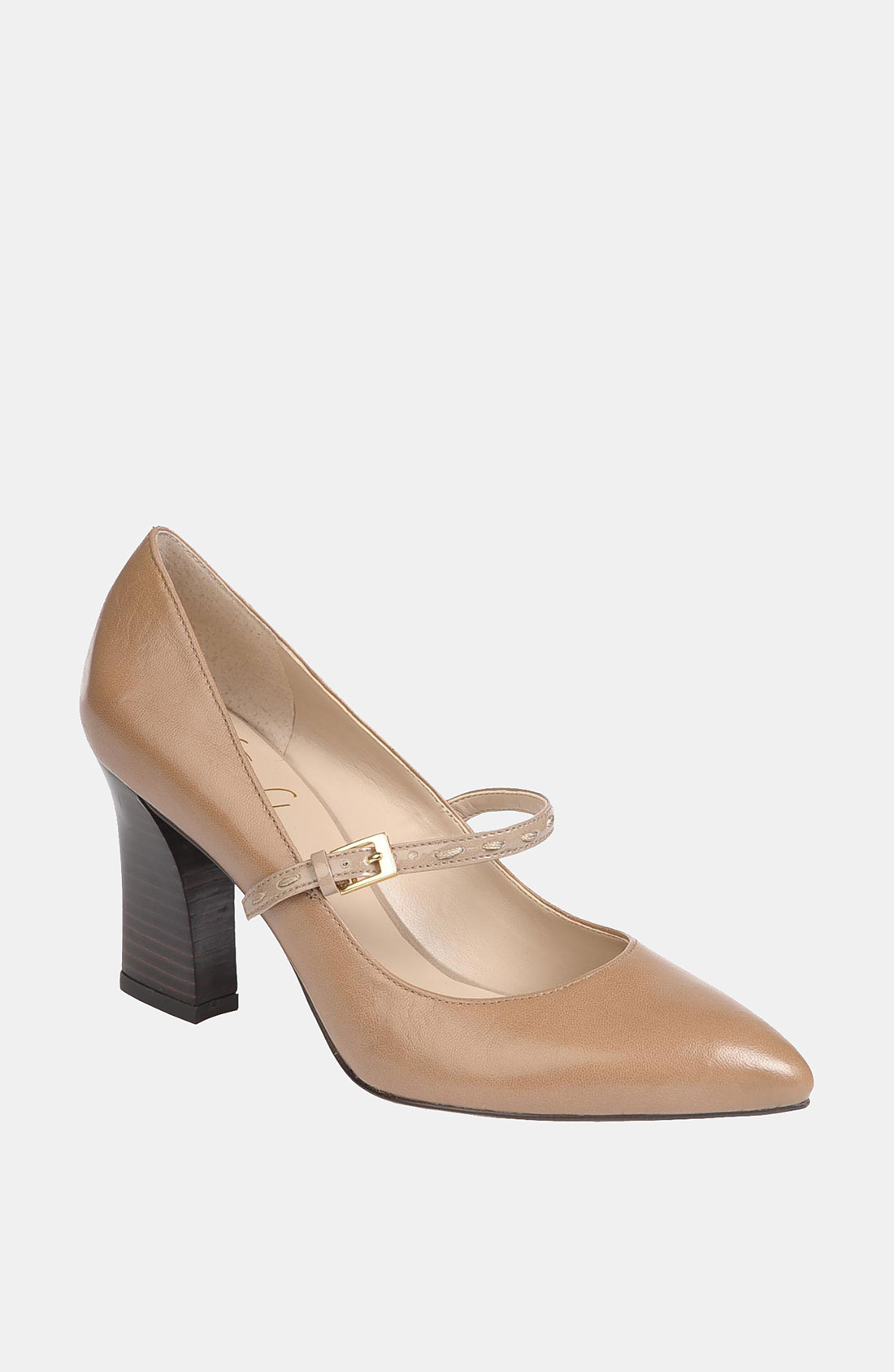 Franco Sarto Instinct Mary Jane Pump In Beige Cool Taupe