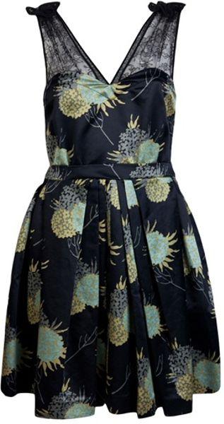 Jill Stuart Madison Dress in Blue (midnight)