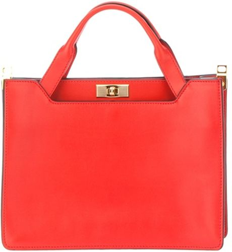 Marni Borsa Mano Tote in Red