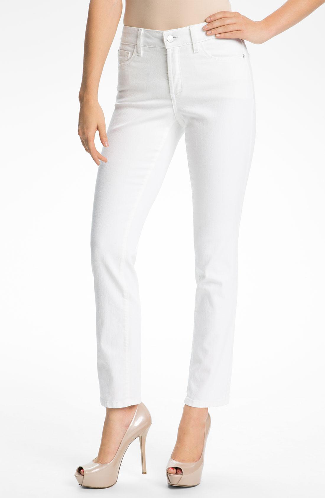 not your daughter 39 s jeans nydj sheri skinny stretch jeans. Black Bedroom Furniture Sets. Home Design Ideas