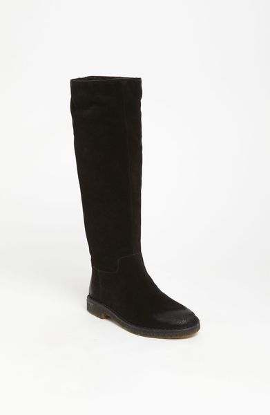 Vince Connor Boot in Black (black/ chocolate)