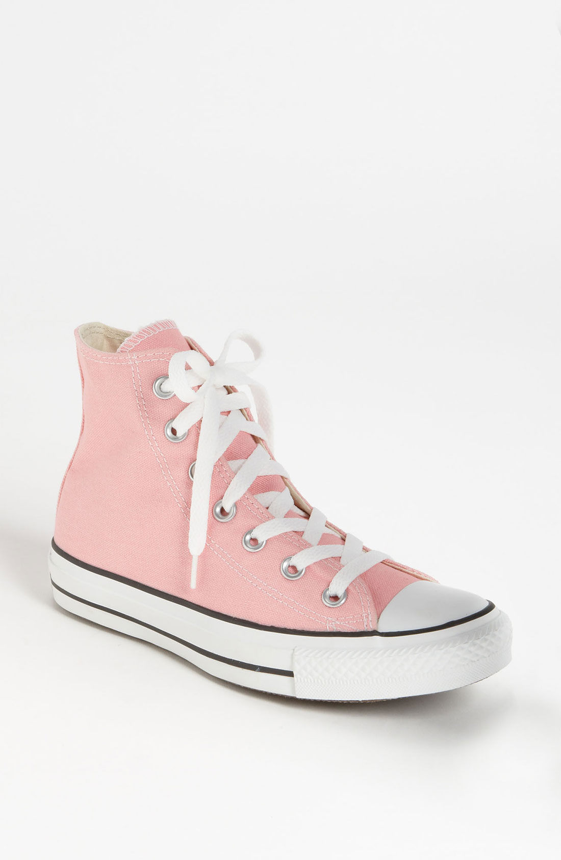 converse chuck taylor high top sneaker in pink lyst