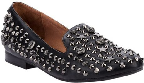 Jeffrey Campbell Studded Slipper in Black - Lyst