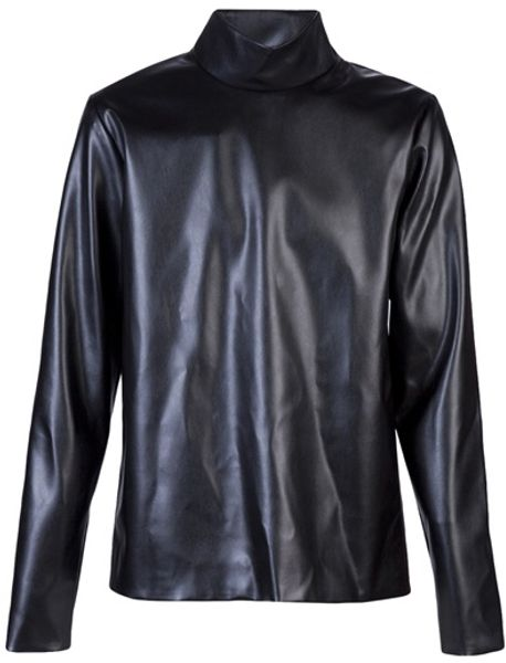 Jil Sander Turtle Top in Black for Men - Lyst