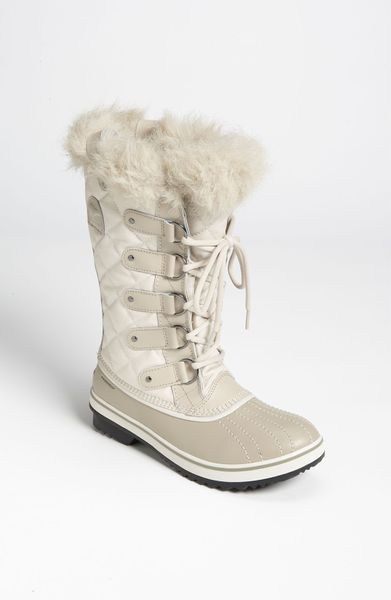 Sorel Tofino Boot In White Fawn Ivory Lyst