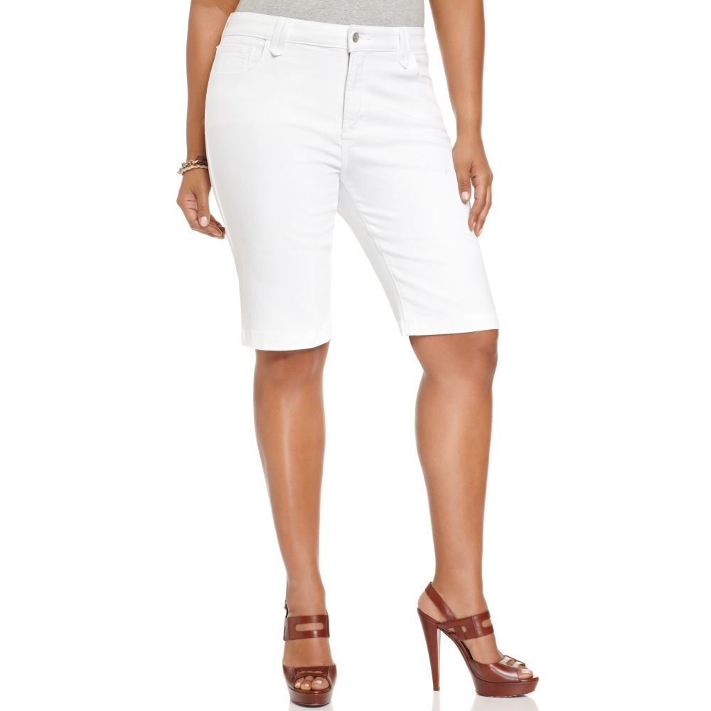 White Jeans For Plus Size Women