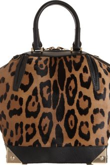 Alexander Wang Haircalf Leather Small Emile Tote - Lyst