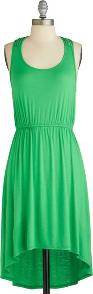 Modcloth How You Bean Dress in Green