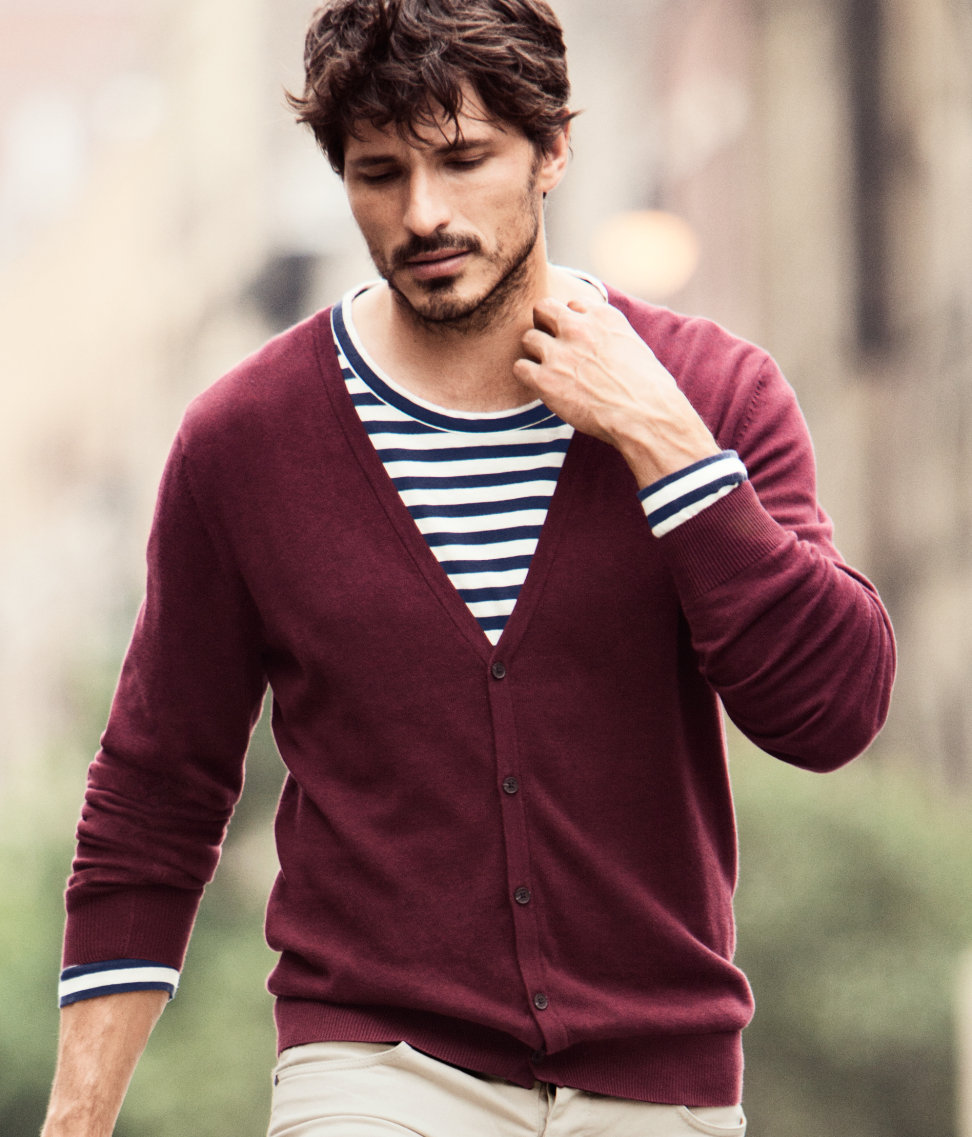 H&m Cardigan in Purple for Men | Lyst