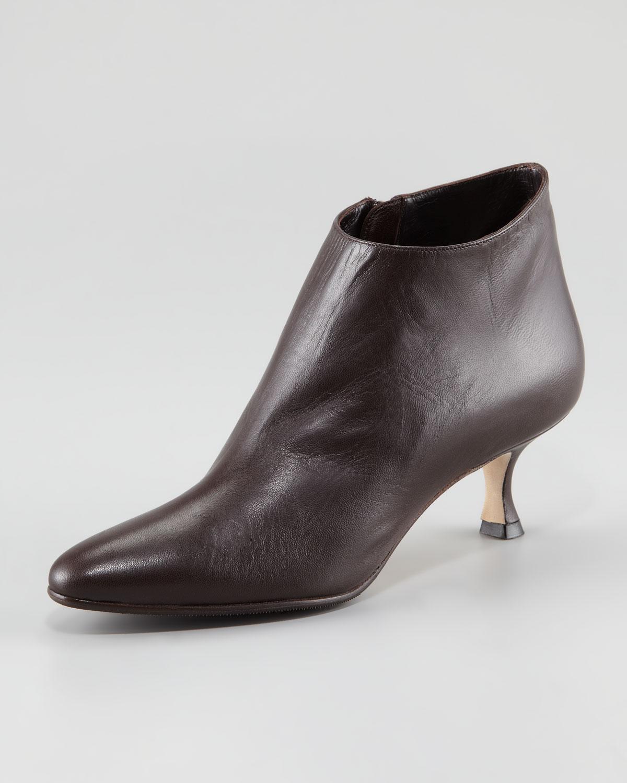 manolo blahnik maleeba ankle boots