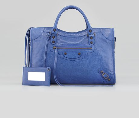 Balenciaga Classic City Bag Ocean in Blue (ocean)