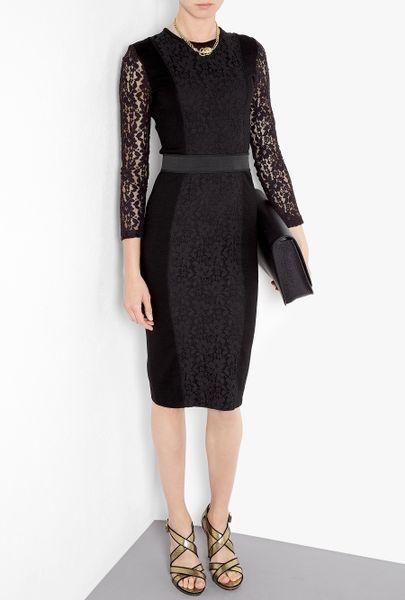 By Malene Birger Noea Interlock Lace Dress in Black (jet)