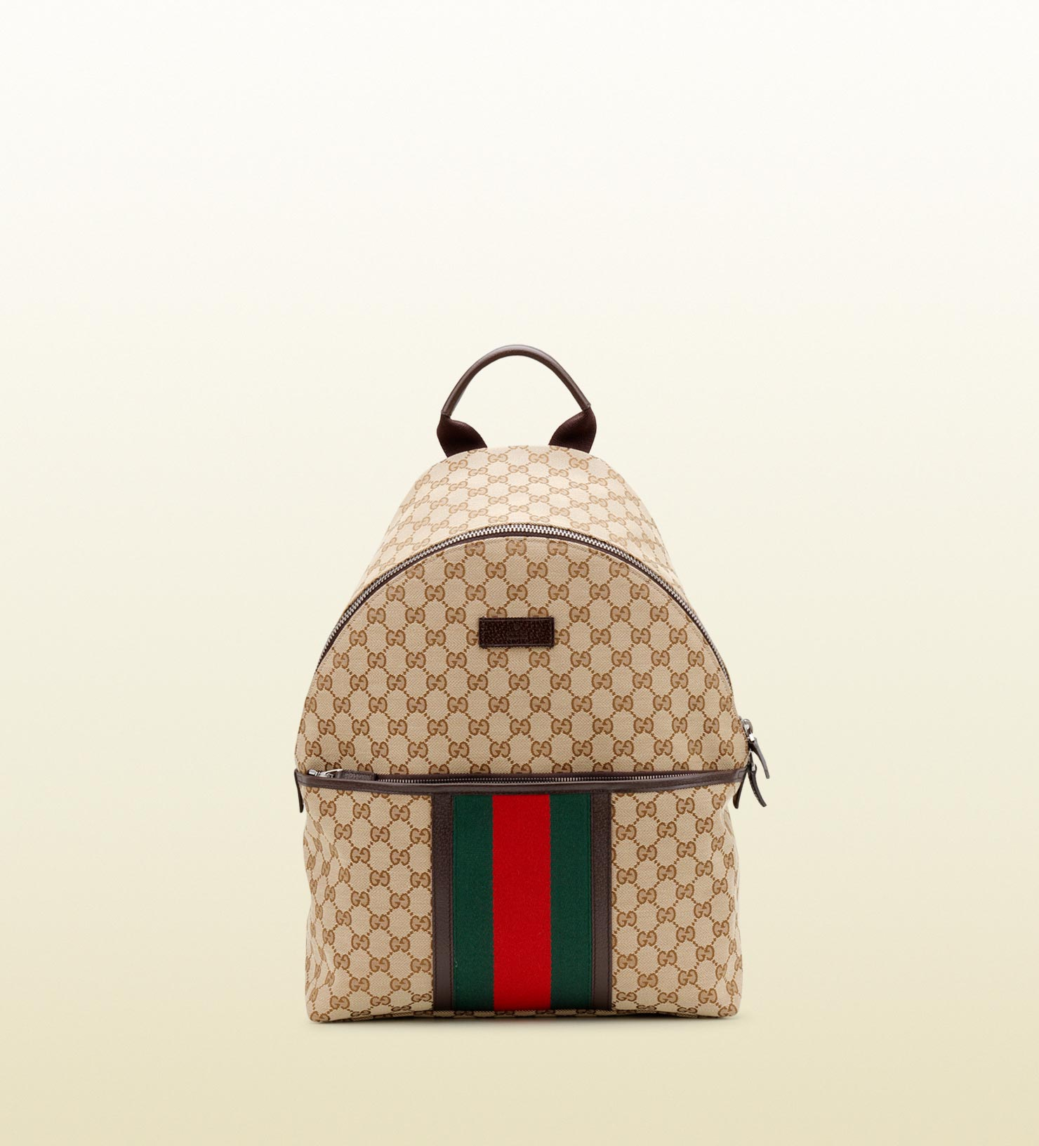 ... wholesale price 64aba bfd53 Lyst - Gucci Original Gg Canvas Backpack in  Natural for Men ... fe8f750924