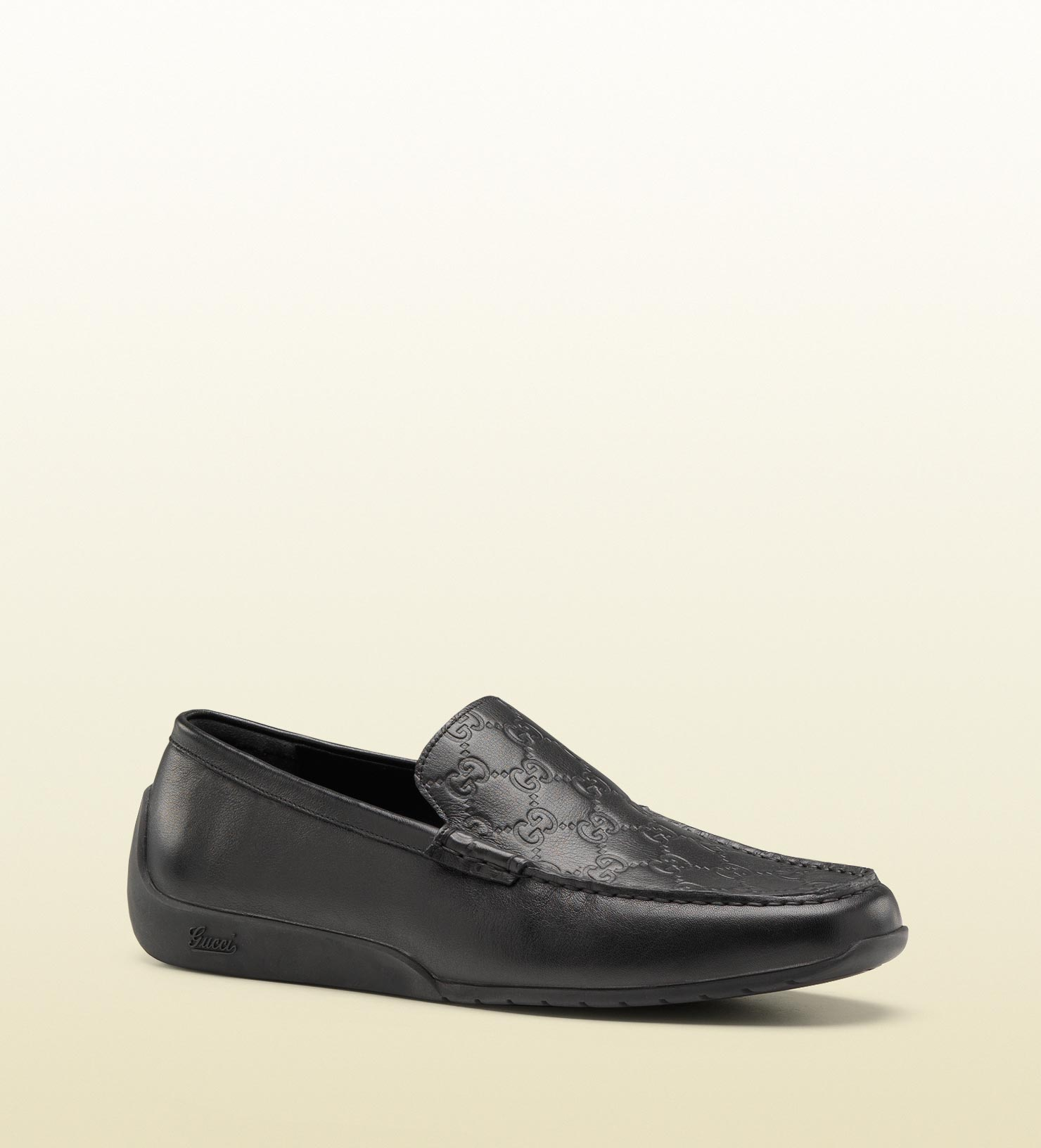f44a4f6952d Lyst - Gucci Moccasin in Black for Men