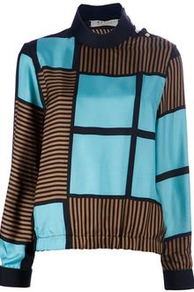 Marni Patterned Blouse - Lyst