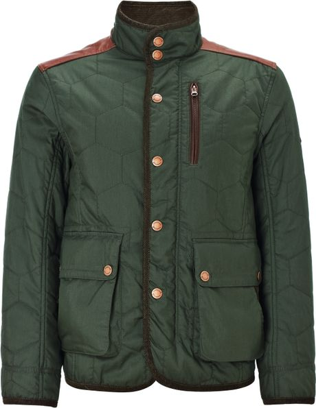 Timberland Timberland Rugged Quilted Jacket Green In Green
