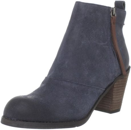 Unique Gabor Ankle Boots  Trudy Ladies Navy Suede Ankle Boots  Mozimo