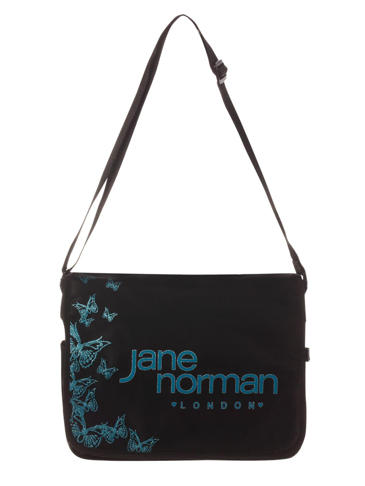 Jane Norman Butterfly Messenger In Black Lyst