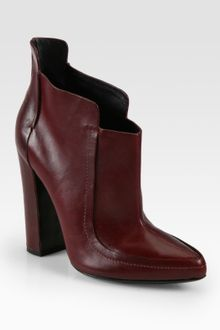 Alexander Wang Kim Leather Ankle Boots - Lyst