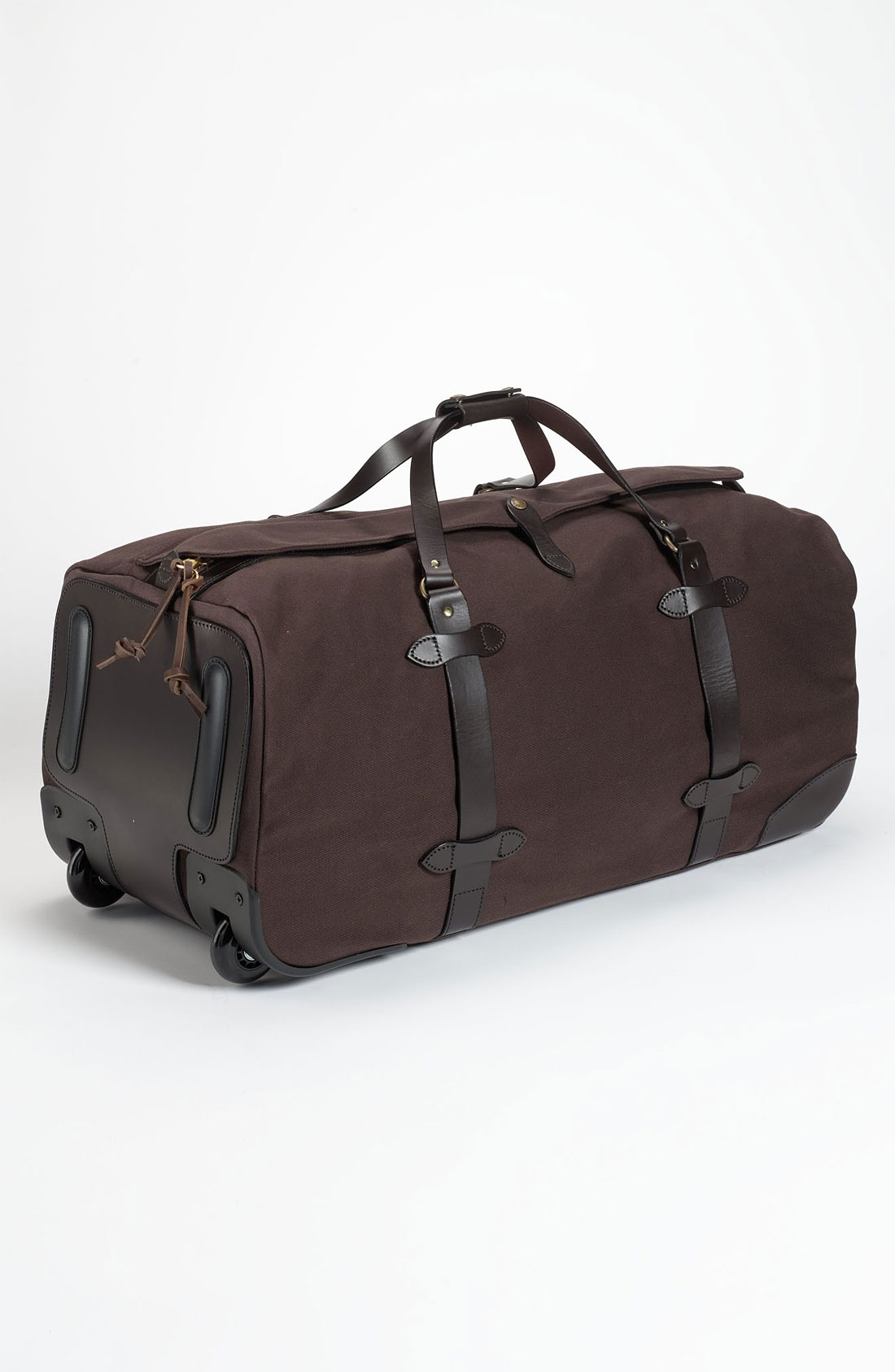 filson large wheeled duffel bag in brown for men lyst. Black Bedroom Furniture Sets. Home Design Ideas