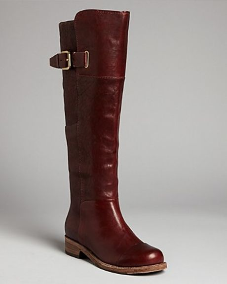 by sigerson morrison flat boots irene in brown