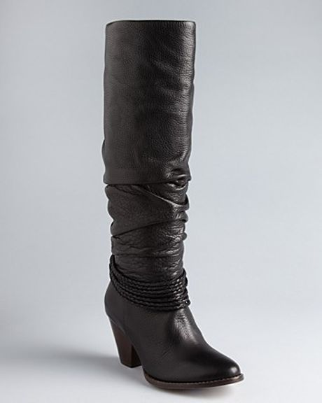 Ella Moss Tall Boots Viola in Brown (black)