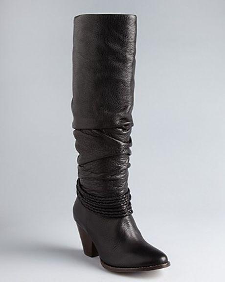 Ella Moss Tall Boots Viola in Brown (black)
