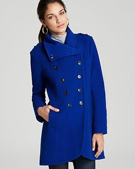 Marc New York Double Breasted Tail Coat In Blue Black Lyst