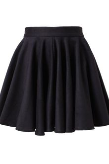Surface To Air Flounced Wool Miniskirt - Lyst