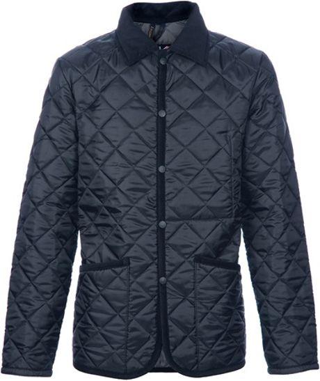 Lavenham Husky Quilted Jacket in Black for Men
