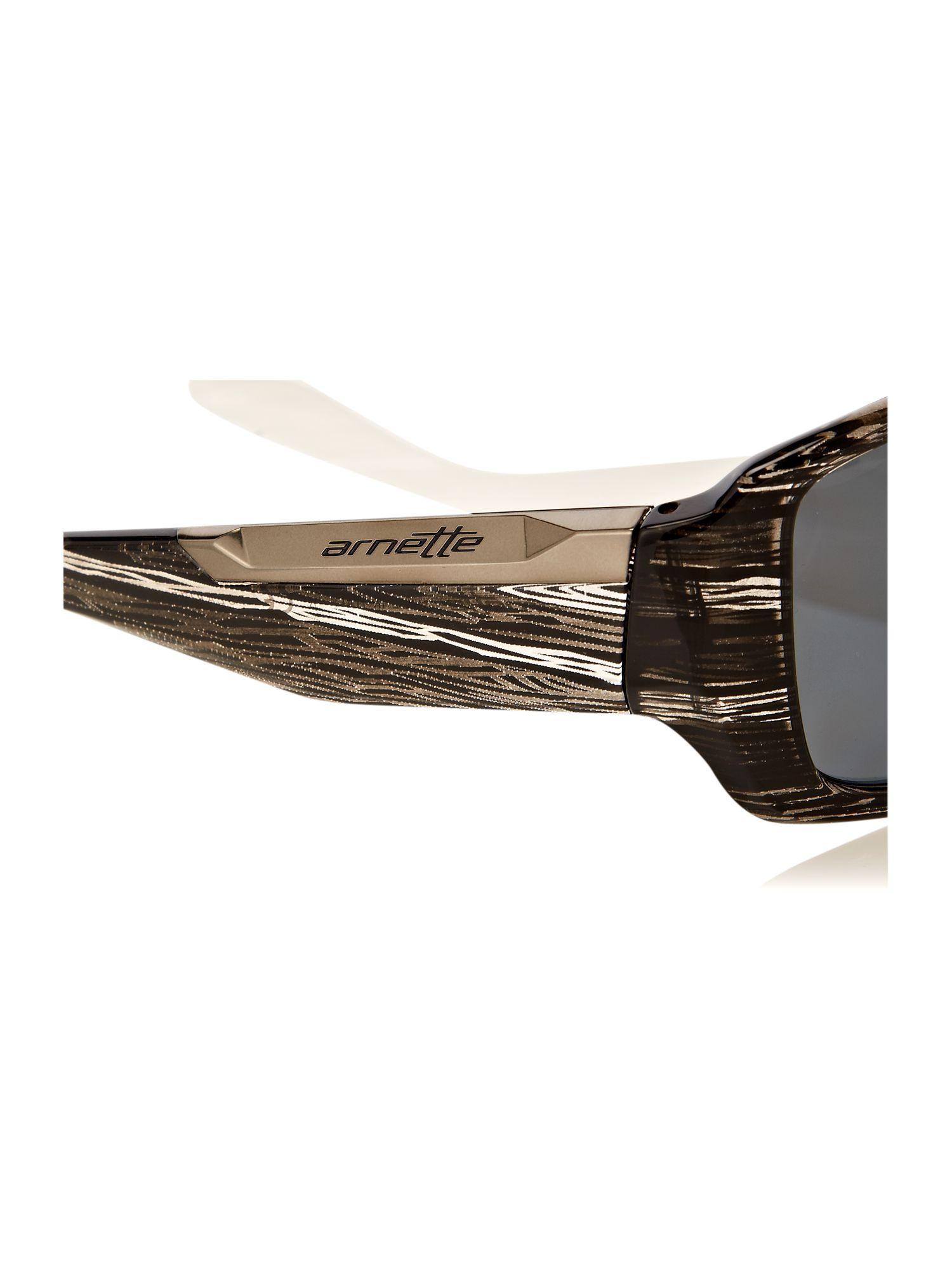 Arnette Men S Sunglasses  arnette mens big deal striped havana sunglasses in black for men
