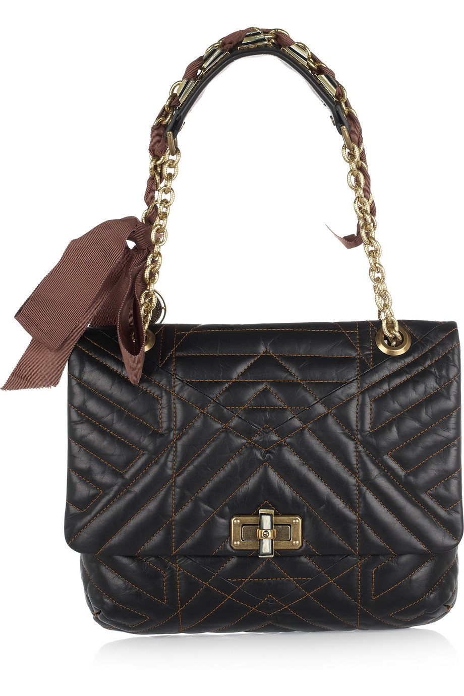 Lanvin Happy Quilted Shoulder Bag 60