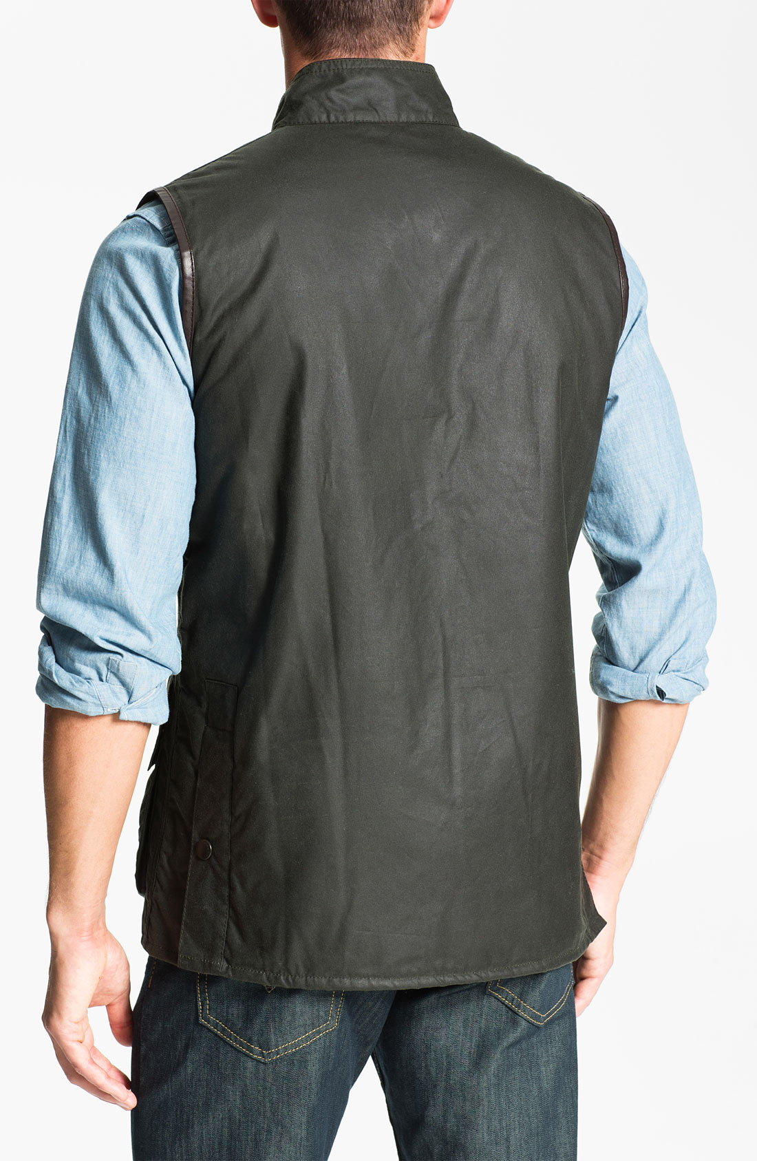 Barbour Westmorland Vest In Gray For Men Sage Lyst