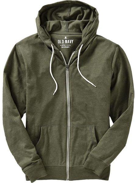 Men s Ink Lightweight Zip-Up Hoodie by InkAddict (Grey/Black