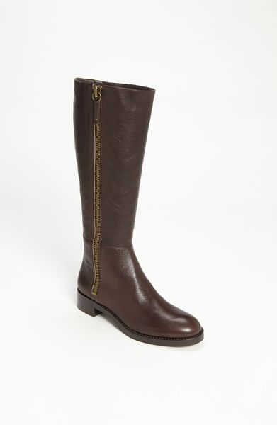 via spiga gretchen boot in brown chocolate lyst