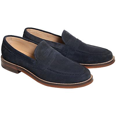 Ben Sherman Loafers Tassel Loafers In Navy Suede UnLABolz